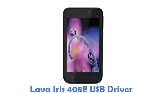 Lava Iris 408E USB Driver