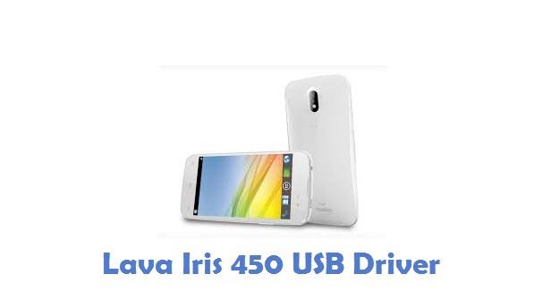 Lava Iris 450 USB Driver