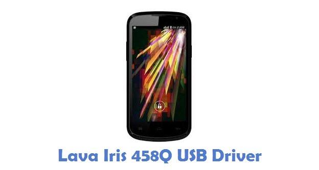 Lava Iris 458Q USB Driver