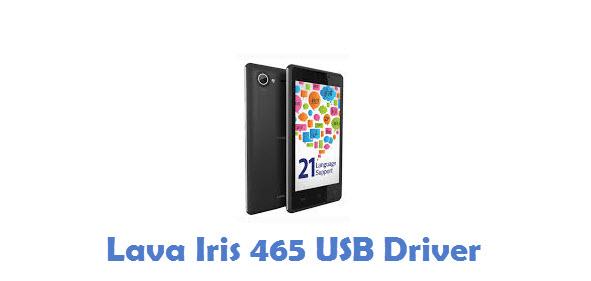 Lava Iris 465 USB Driver