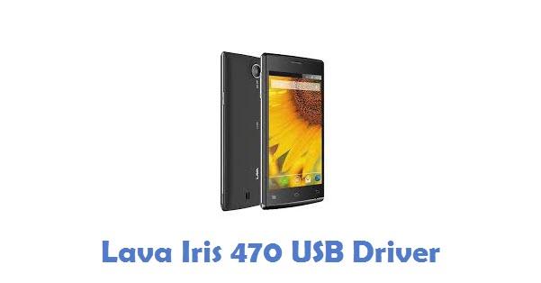 Lava Iris 470 USB Driver