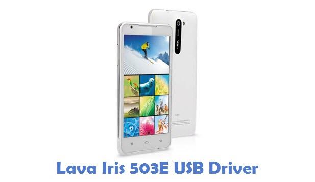 Lava Iris 503E USB Driver