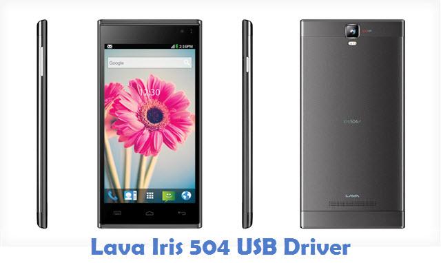 Lava Iris 504 USB Driver