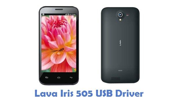 Lava Iris 505 USB Driver