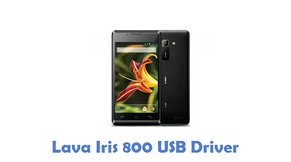 Lava Iris 800 USB Driver