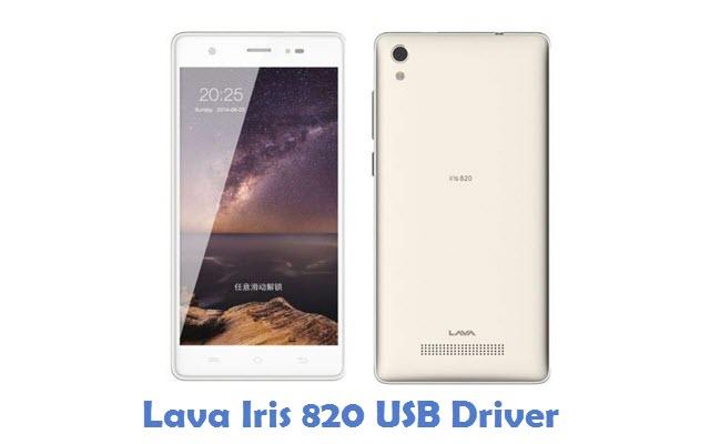 Lava Iris 820 USB Driver
