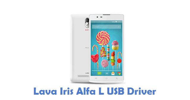 Lava Iris Alfa L USB Driver