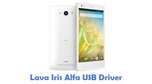 Lava Iris Alfa USB Driver