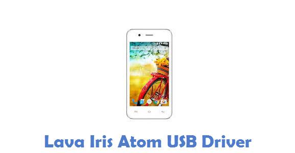 Lava Iris Atom USB Driver