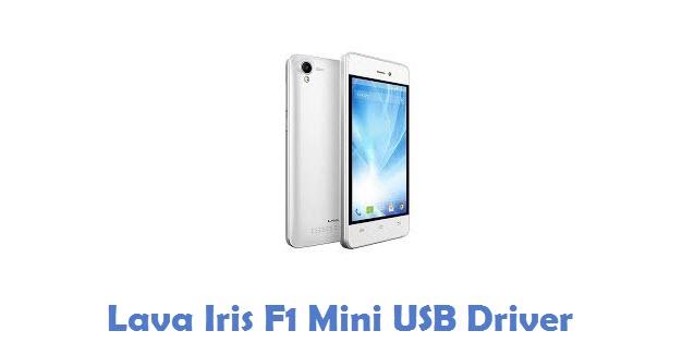 Lava Iris F1 Mini USB Driver