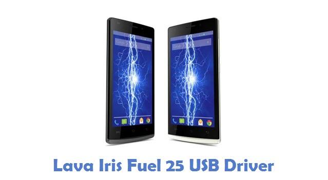 Lava Iris Fuel 25 USB Driver