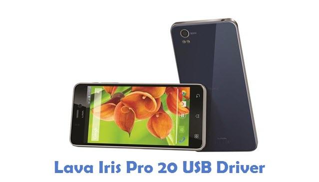 Lava Iris Pro 20 USB Driver