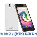 Lava Iris X5 (MTK) USB Driver