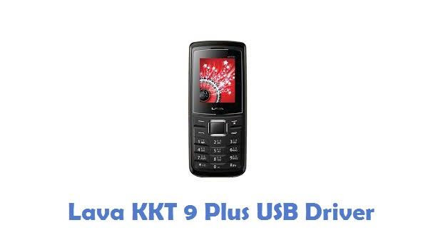 Lava KKT 9 Plus USB Driver