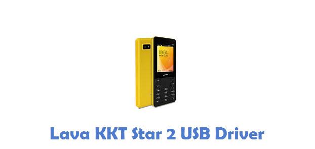 Lava KKT Star 2 USB Driver