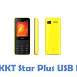 Lava KKT Star Plus USB Driver