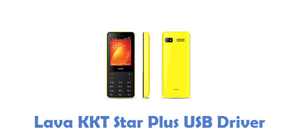 Lava KKT Star Plus USB Driver