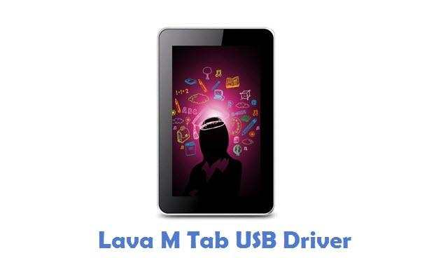Lava M Tab USB Driver