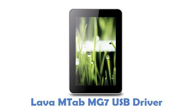 Lava MTab MG7 USB Driver