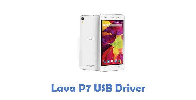 Lava P7 USB Driver
