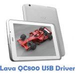 Lava QC800 USB Driver