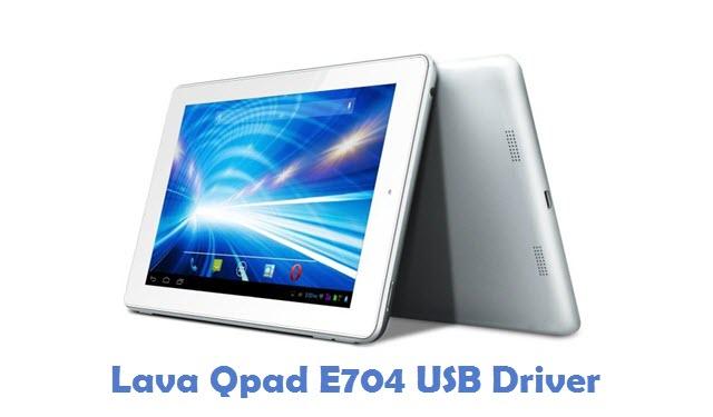 Lava Qpad E704 USB Driver