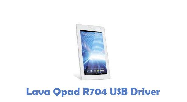 Lava Qpad R704 USB Driver