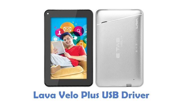 Lava Velo Plus USB Driver