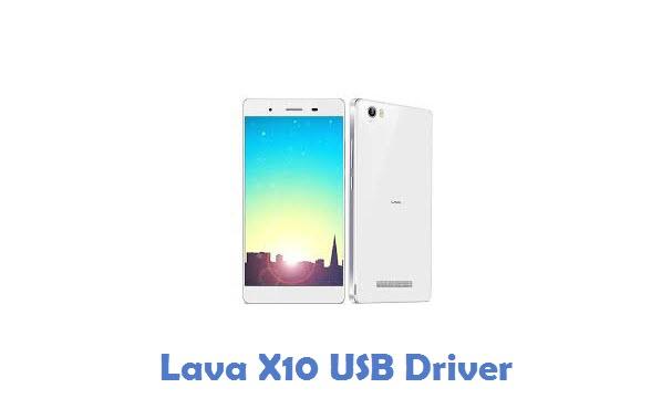 Lava X10 USB Driver