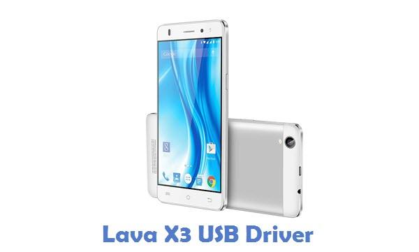 Lava X3 USB Driver