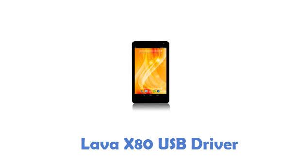 Lava X80 USB Driver