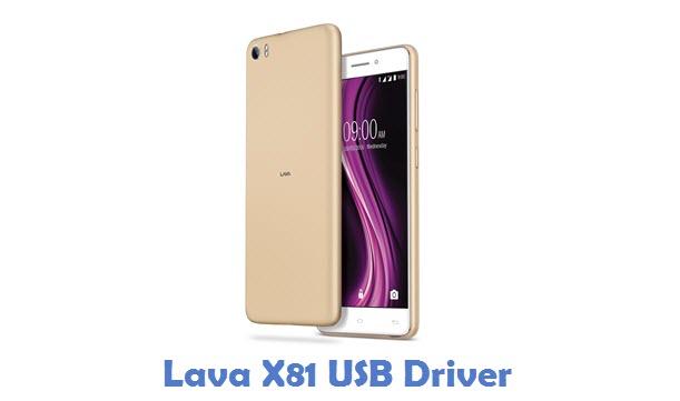 Lava X81 USB Driver