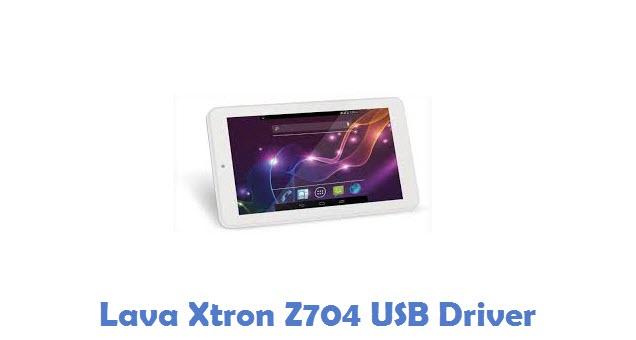 Lava Xtron Z704 USB Driver