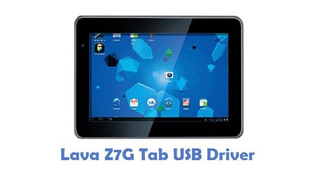 Lava Z7G Tab USB Driver