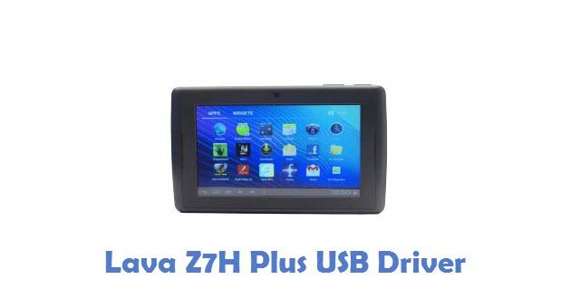 Lava Z7H Plus USB Driver