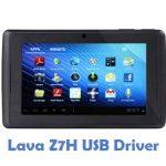 Lava Z7H USB Driver
