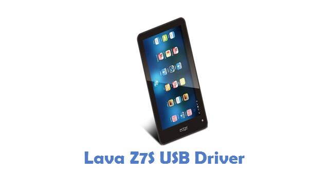 Lava Z7S USB Driver