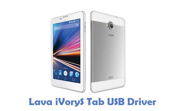 Lava iVoryS Tab USB Driver