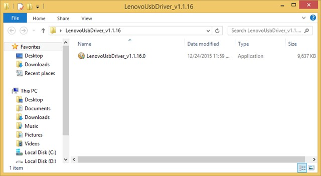 Lenovo Setup File Folder