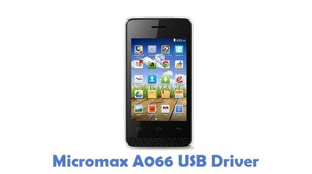 Micromax A066 USB Driver