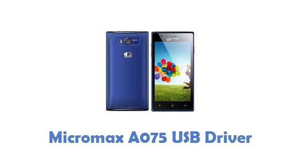 Micromax A075 USB Driver