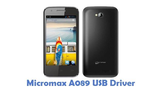 Micromax A089 USB Driver