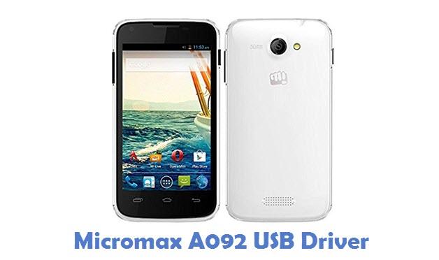 Micromax A092 USB Driver