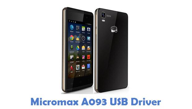 Micromax A093 USB Driver