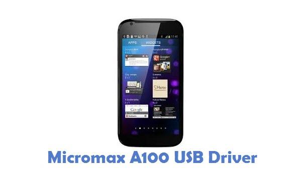 Micromax A100 USB Driver
