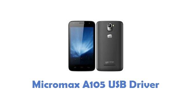 Micromax A105 USB Driver