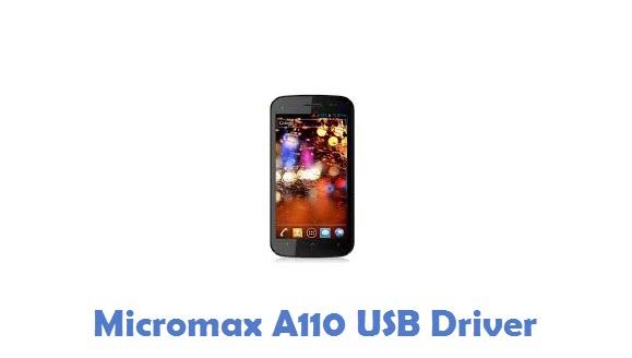 Micromax A110 USB Driver