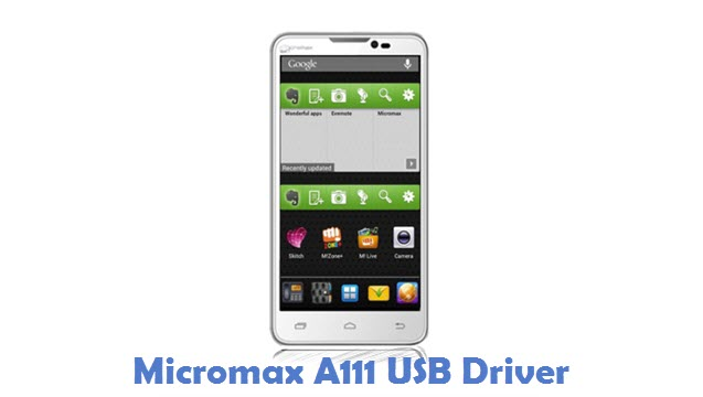 Micromax A111 USB Driver