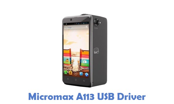Micromax A113 USB Driver