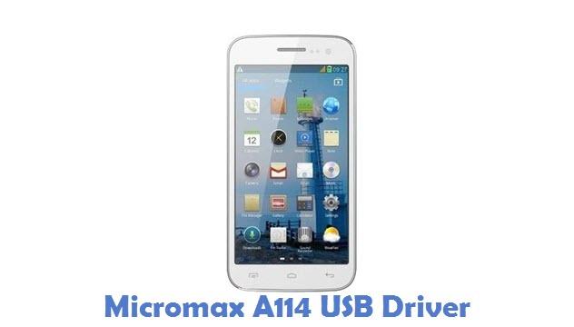 Micromax A114 USB Driver